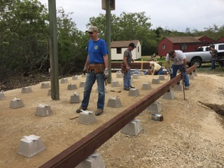 Rancho El Chorro Amphitheater New Support Beam
