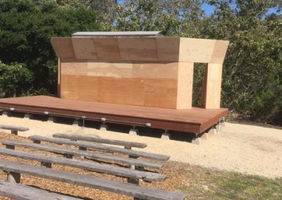 Rancho El Chorro Amphitheater Stage