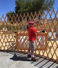 Yurt Wall