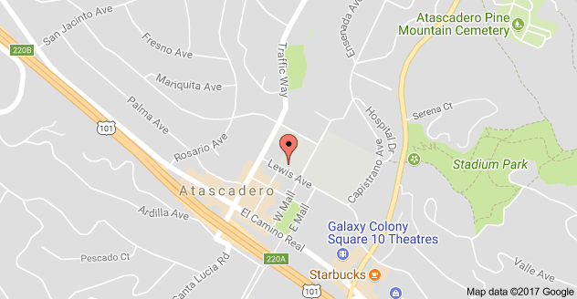 Map to Atascadero Fine Arts Academy