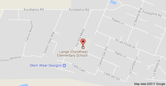 Mapt to Doretha Lange Elementary School