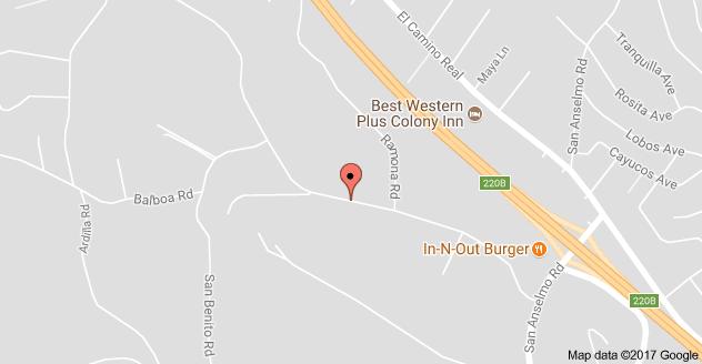 Map to Monterey Elementary School