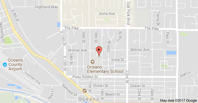 Map to Oceano Education Center