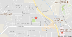 Map to Pacheco Elementary School