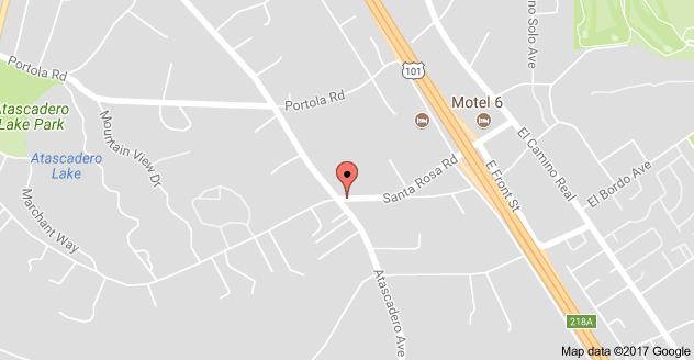 Map to Santa Rosa Academic Academy