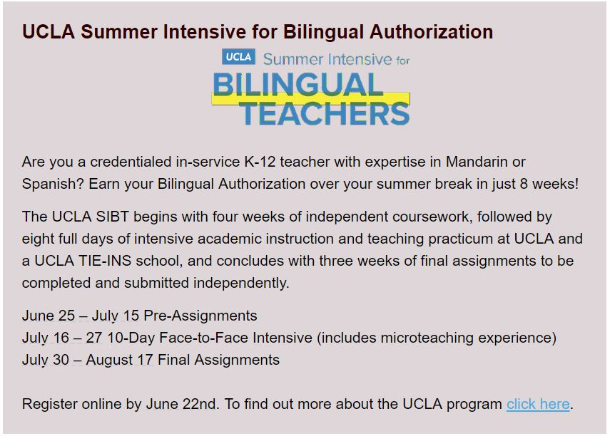 Earn Your Bilingual Authorization In Spanish For Free San Luis