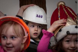 Kids at pre-school