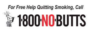 For Free Help Quitting Smoking, Call 1800NOBUTTS