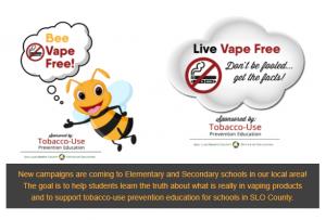 Tobacco Use Prevention Education Graphic