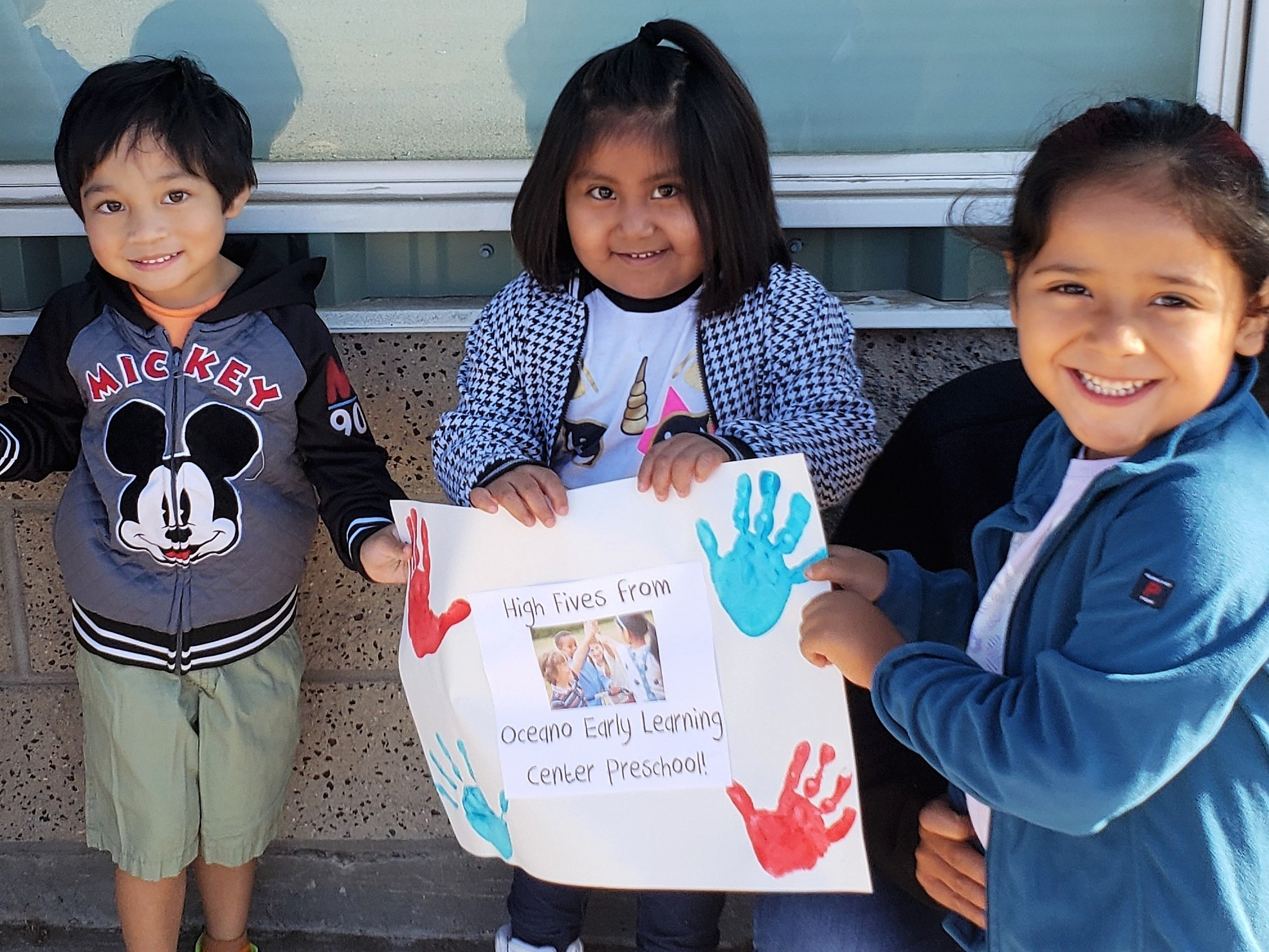 Students at Oceano Early Education Center