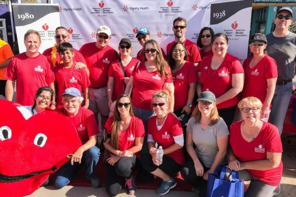 Employees at Heartwalk